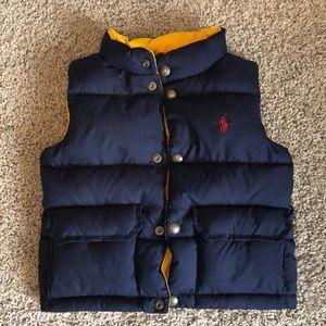 Polo Ralph Lauren Reversible Puffy Vest